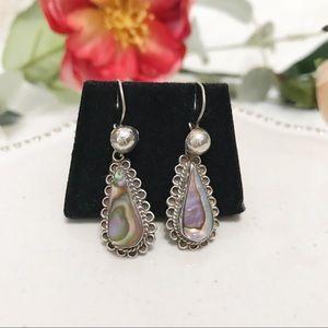 • Vintage • Abalone Earrings